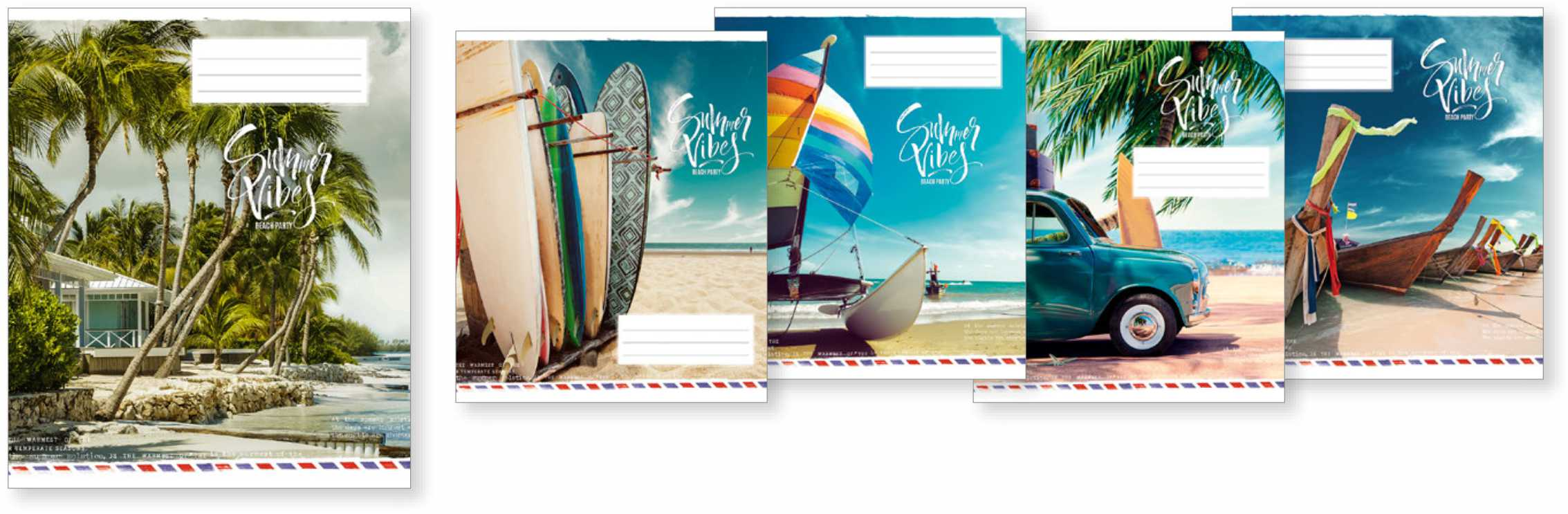 """Caiet 48 file linie Школярик """"Summer vibes"""" 048-2998L (10